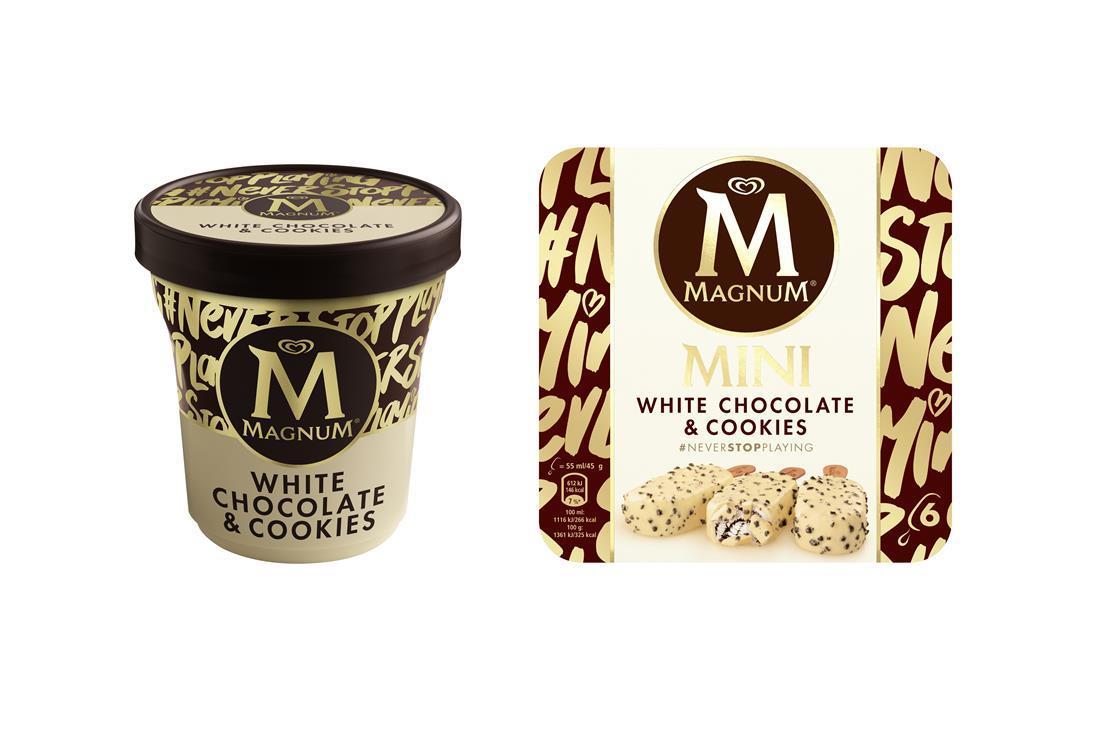 Magnum White Cookie