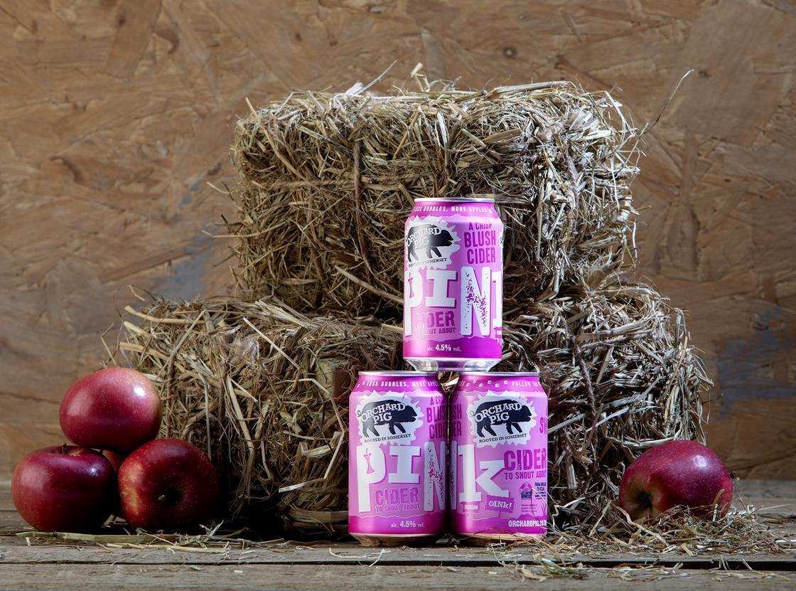 cider pink pig orchard paint wine blush millennial hits stores town summer apple convenience somerset