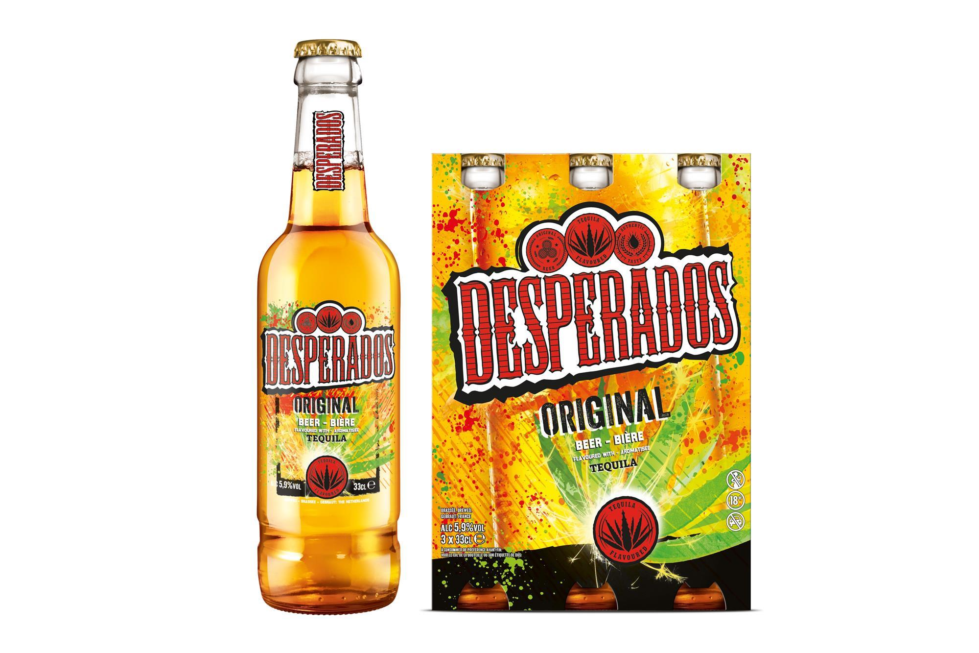 Desperados Revamps Beer Bottle Design Product News Convenience Store