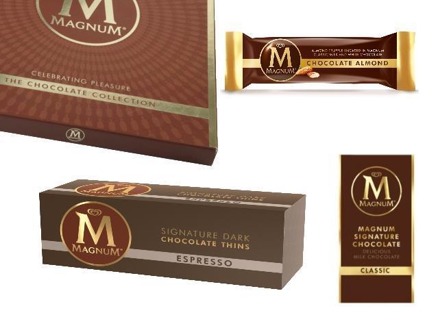 e9960eeec Unilever and Kinnerton release Magnum chocolate range
