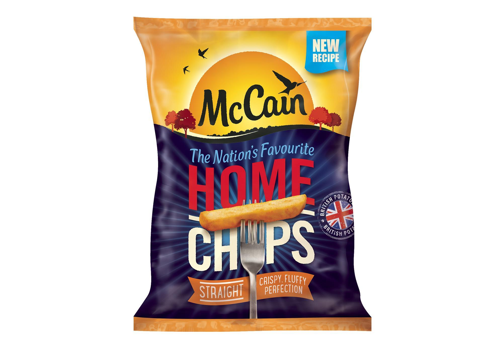 McCain reveals new recipe for Home Chips | Product News