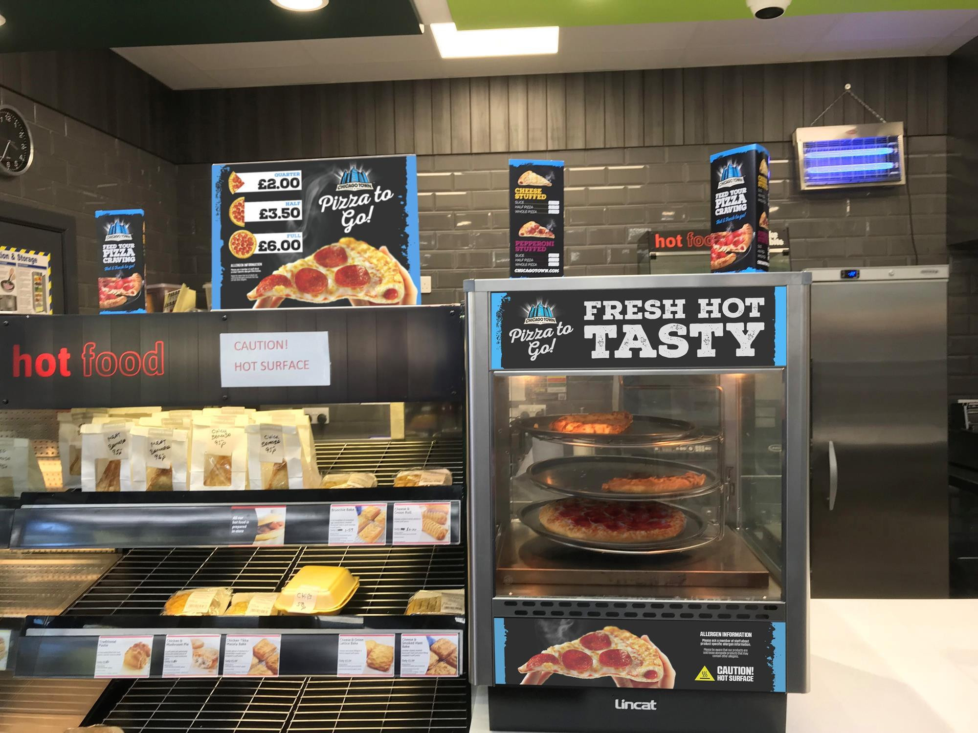 Chicago Town Rolls Out Food To Go Concept To C Stores