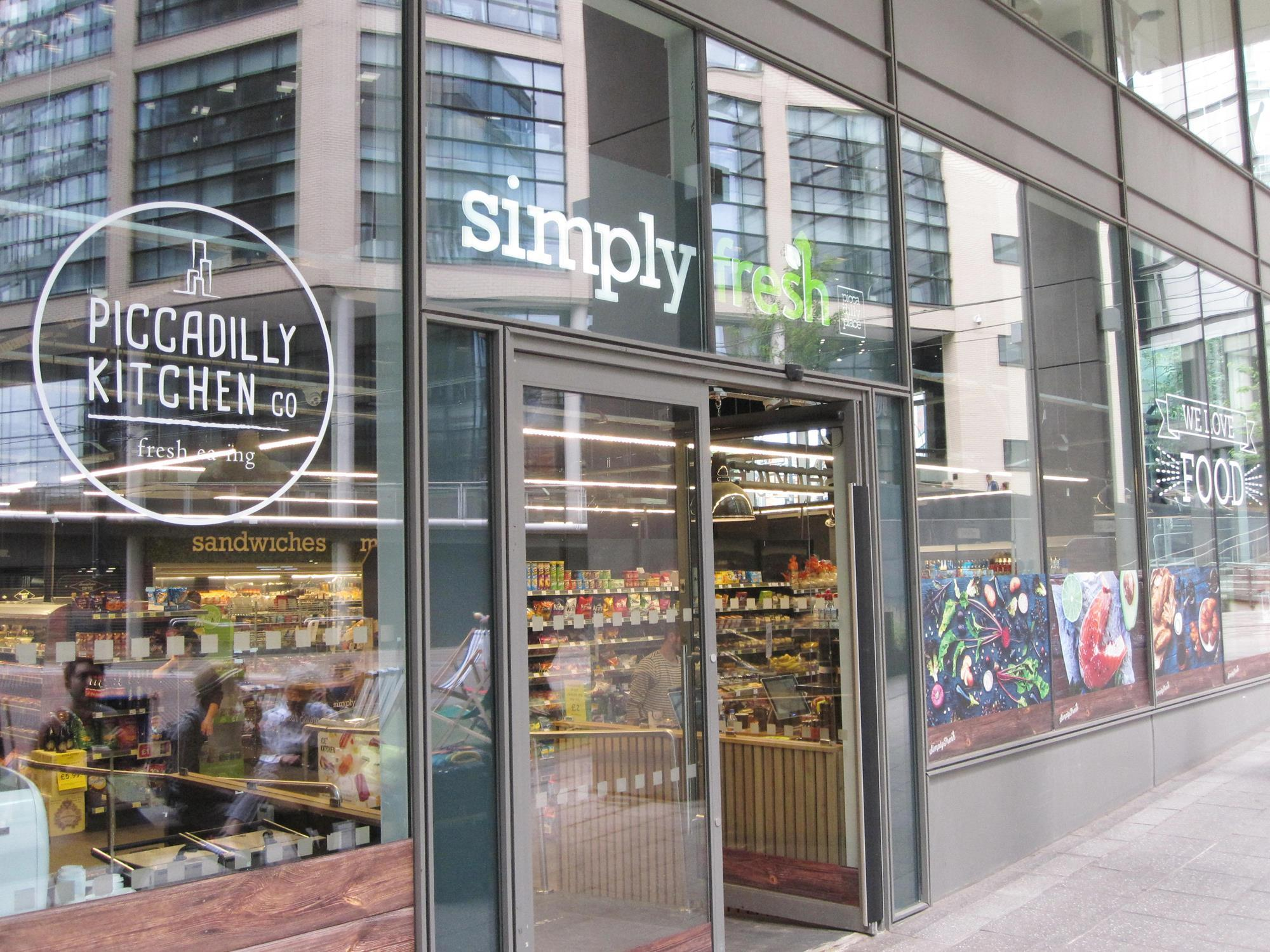 Simply Fresh Manchester Features Convenience Store