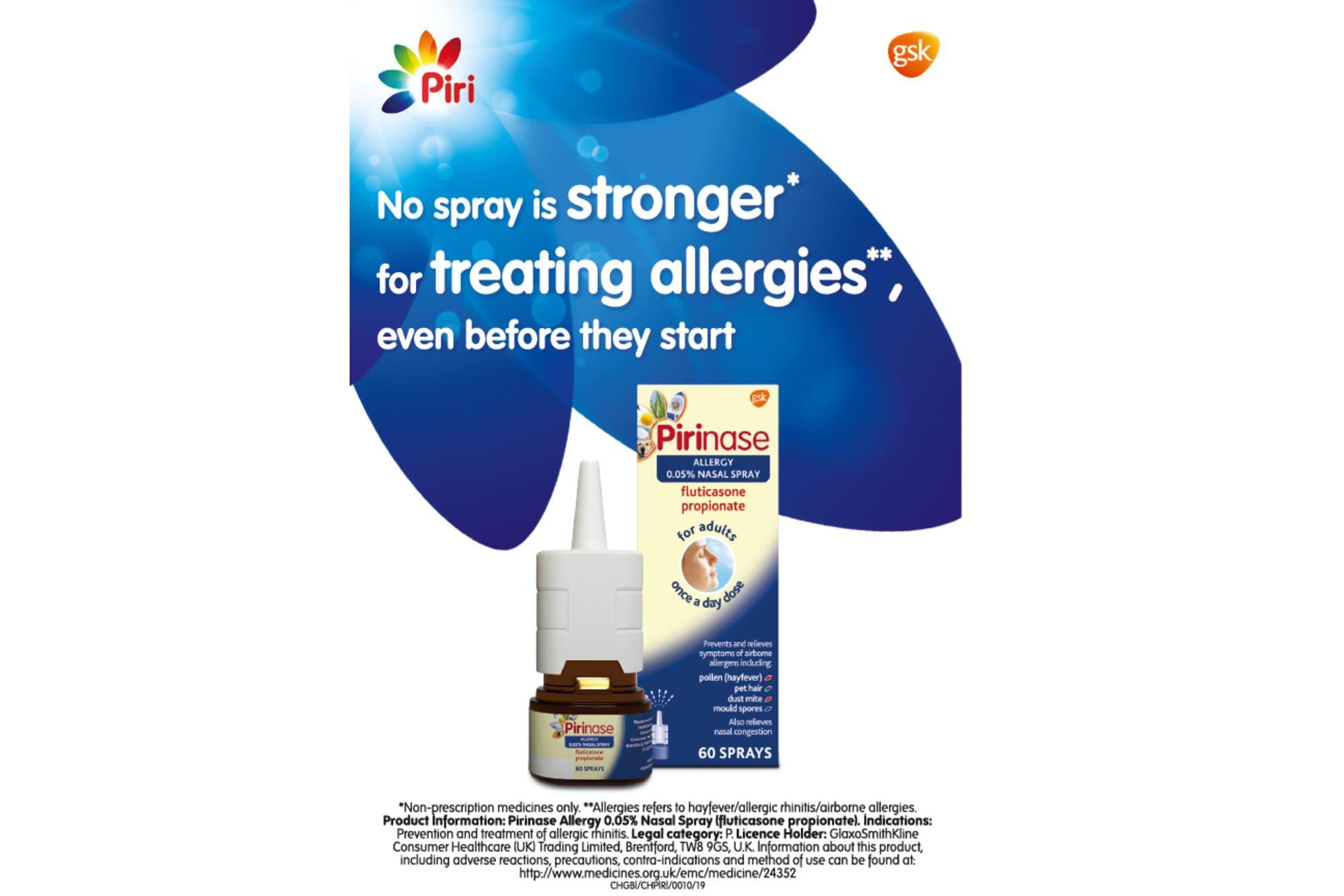 GSK steps up marketing for hay fever season | Product News