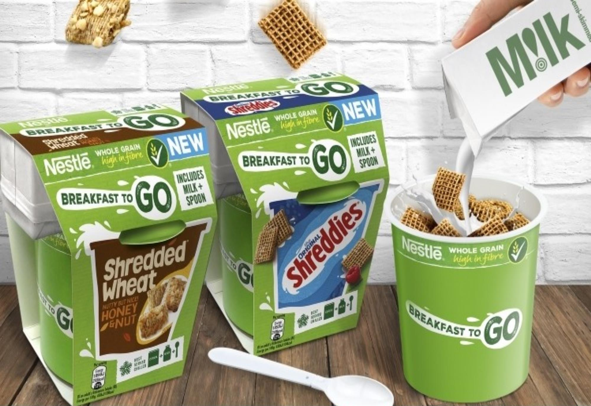 Nestle Breakfast to Go pots launch in the UK | Product News ...