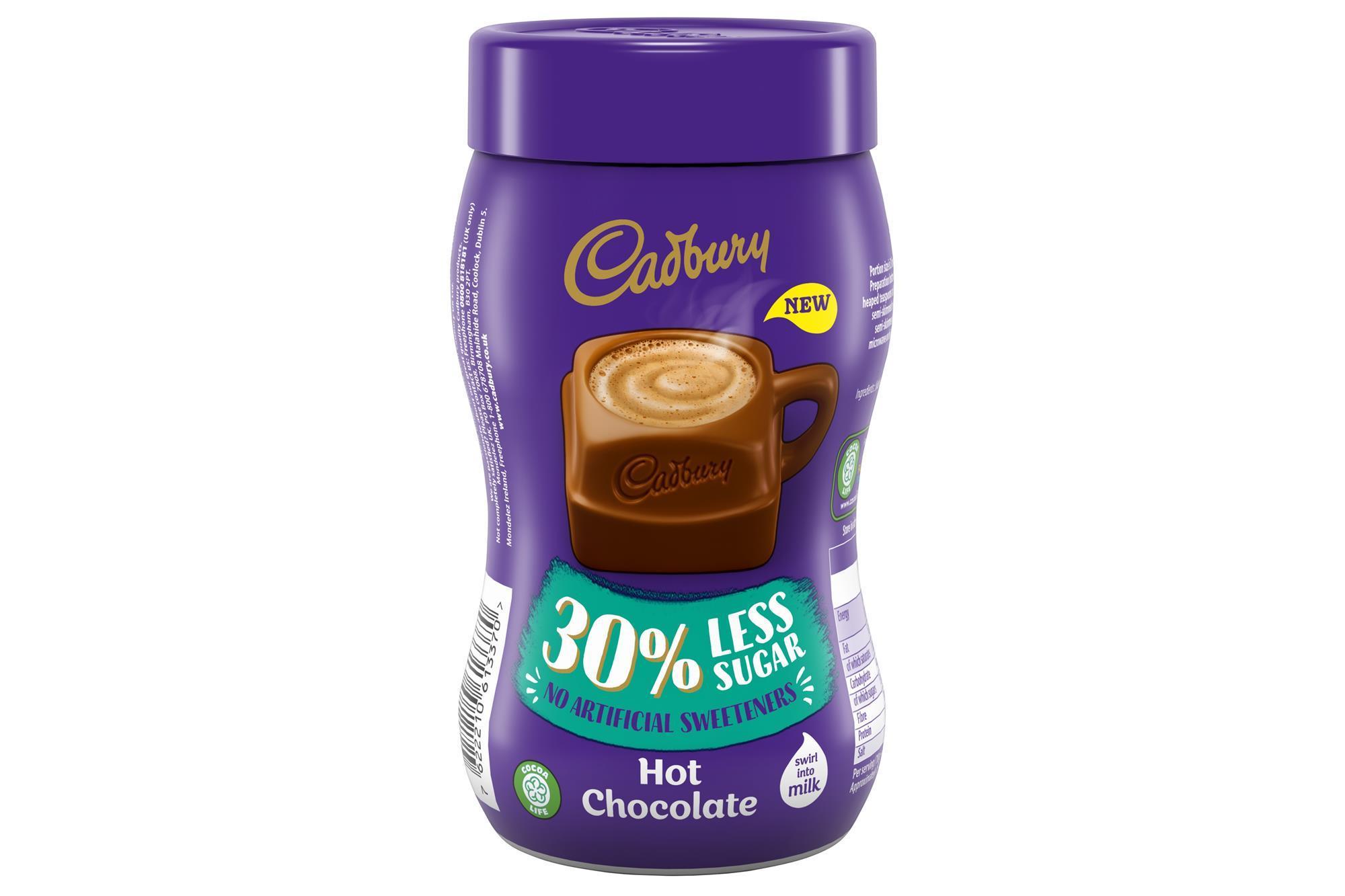 Cadbury Reduces Sugar In Jarred Hot Chocolate Product News