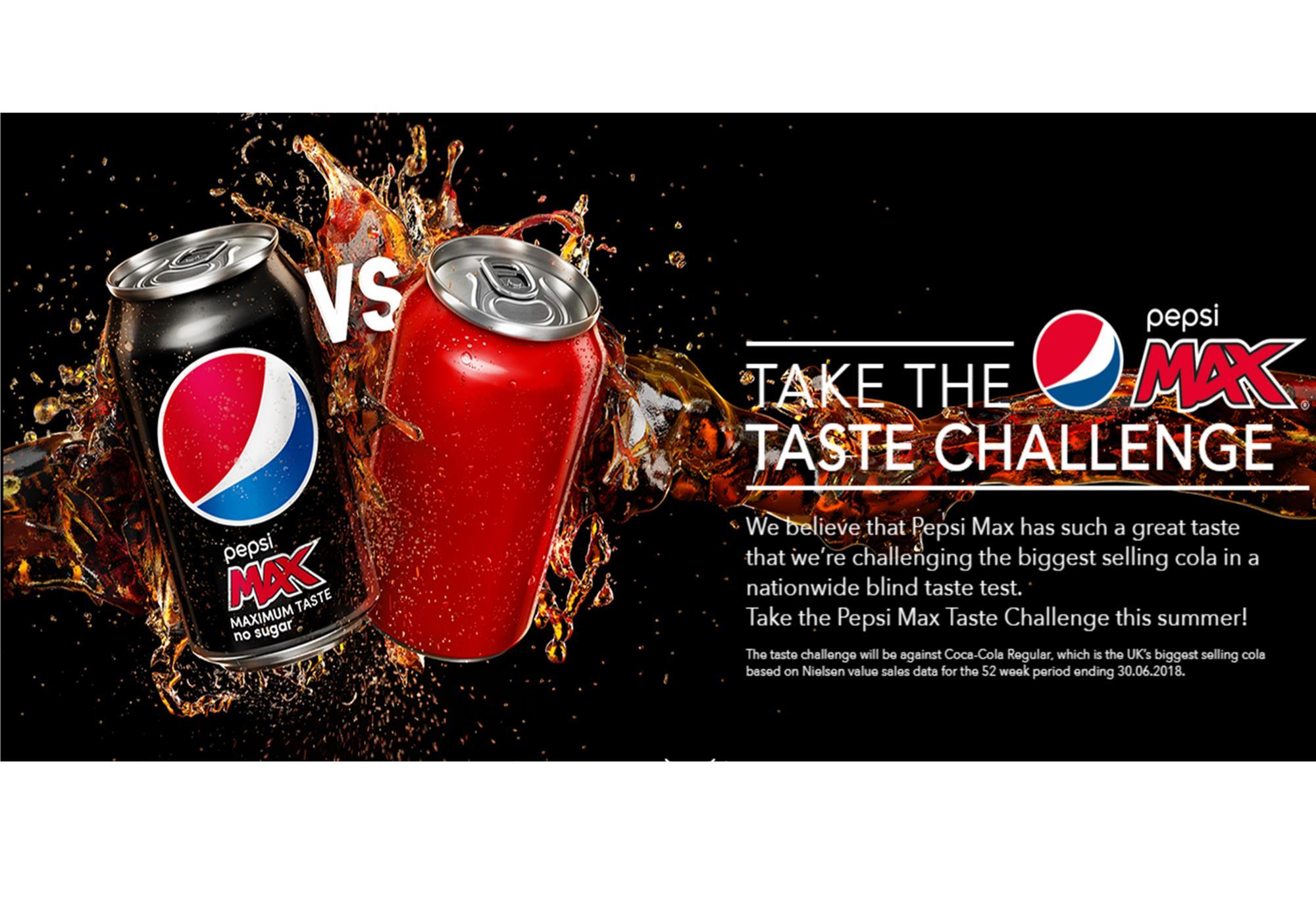 Pepsi Max takes on competition with blind taste test | Product News