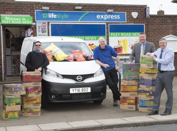 480e4b40f8 Walkers and Lifestyle Express announce  Win a Van  winner