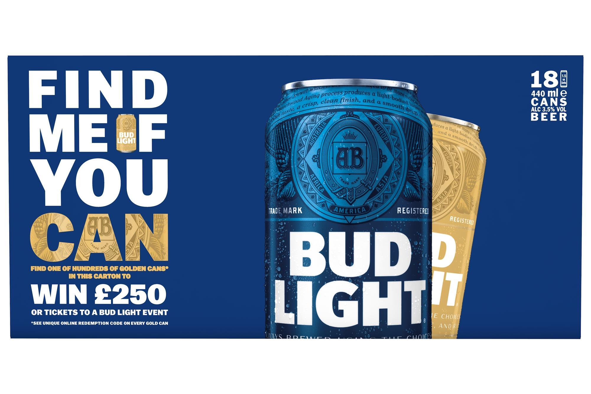 Bud Light kicks off 'The Golden Can: Find Me If You Can