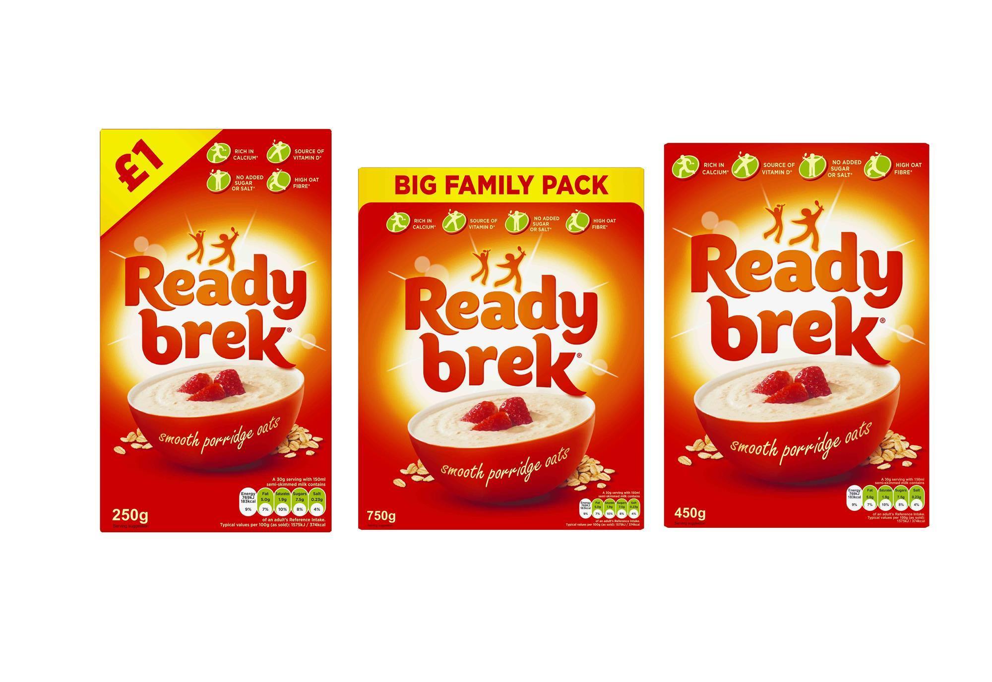 Ready Brek Gets Retro Pack Refresh Product News