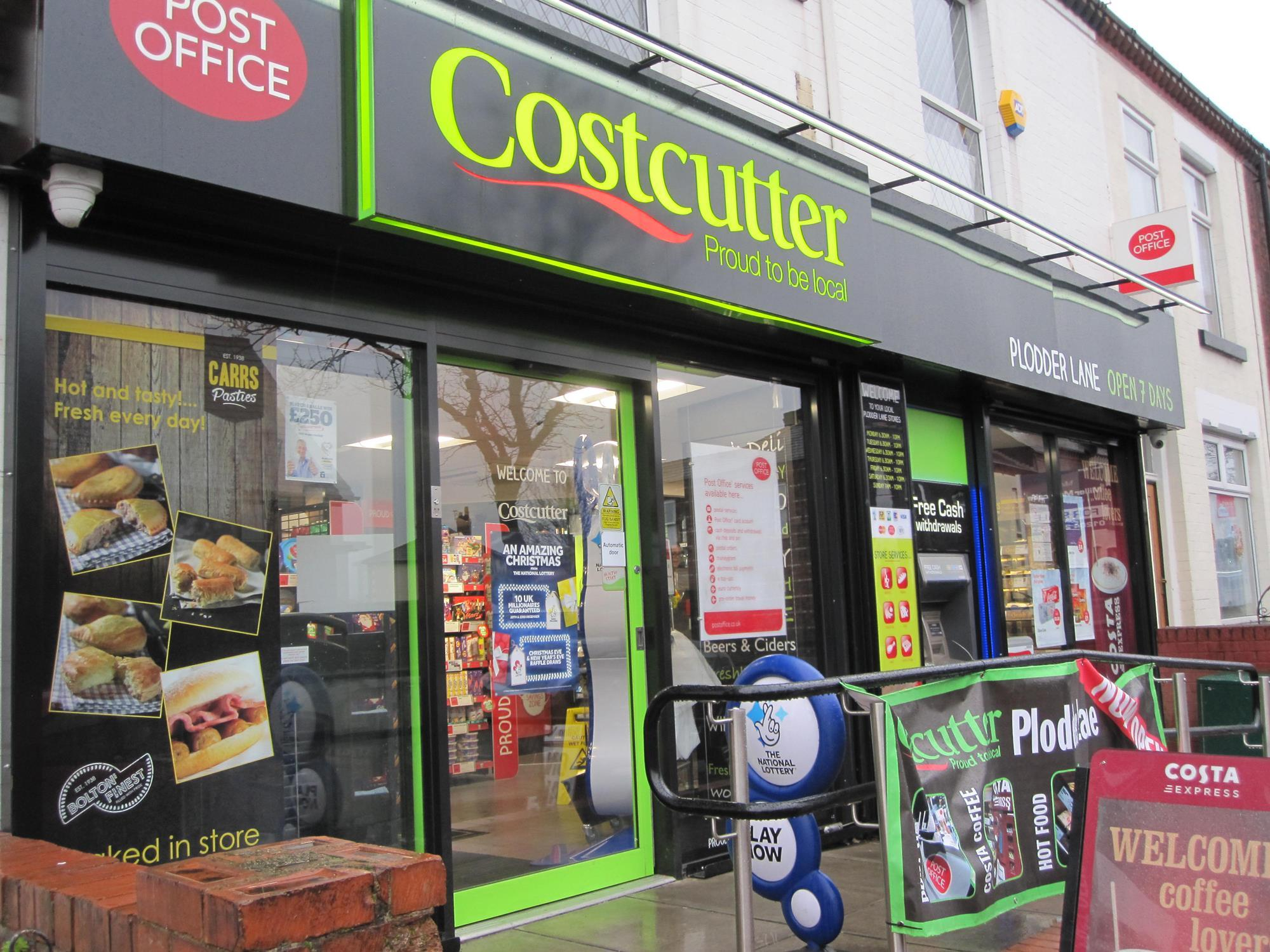 Costcutter Plodder Lane Bolton Features Convenience Store