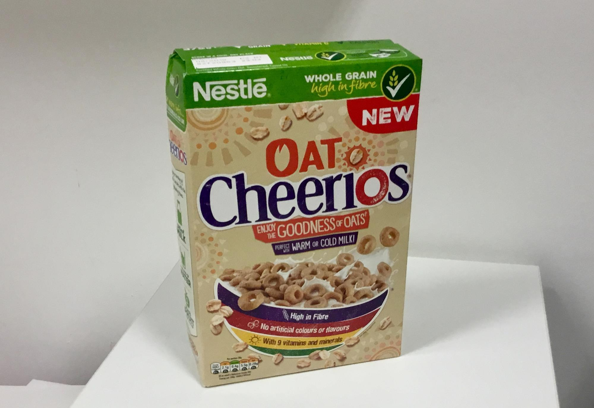 Nestle launches Oat Cheerios made with British grains