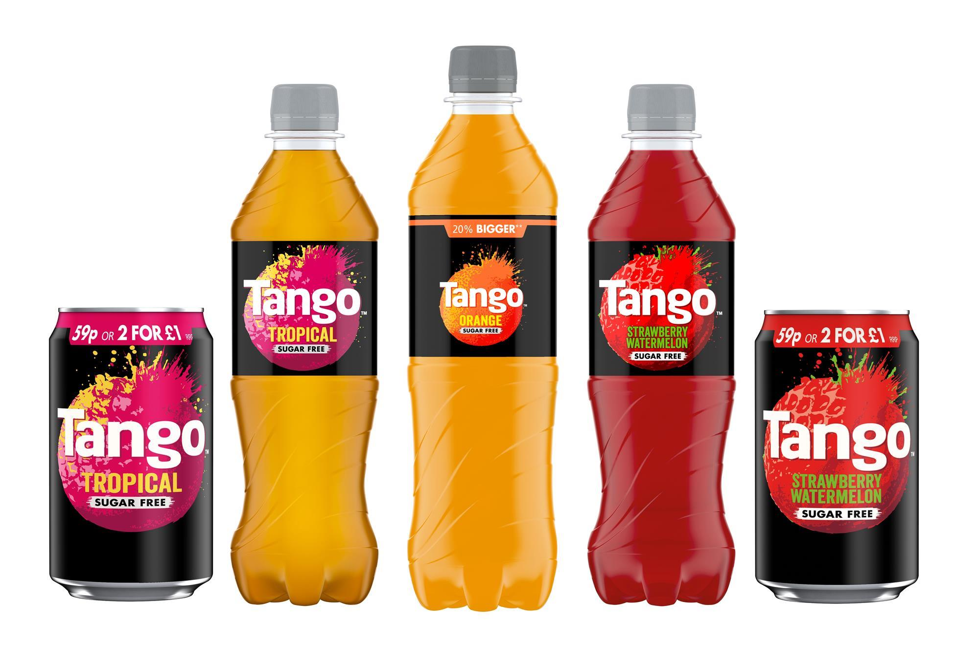 Tango refreshed with new sugar free flavours | Product News