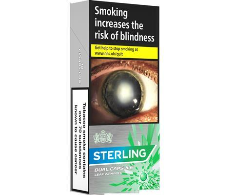 Sterling Cigarillos Launched With Menthol Capsules Product News Convenience Store