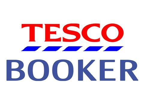 Tesco sales boosted by Booker's like-for-like 3 1% growth