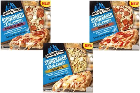 Chicago Town Makes Chilled Debut With Deli Crust Range