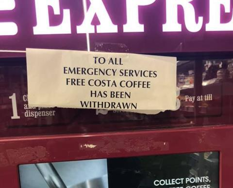 Co Op Store Withdraws Exploited Free Costa Offer To