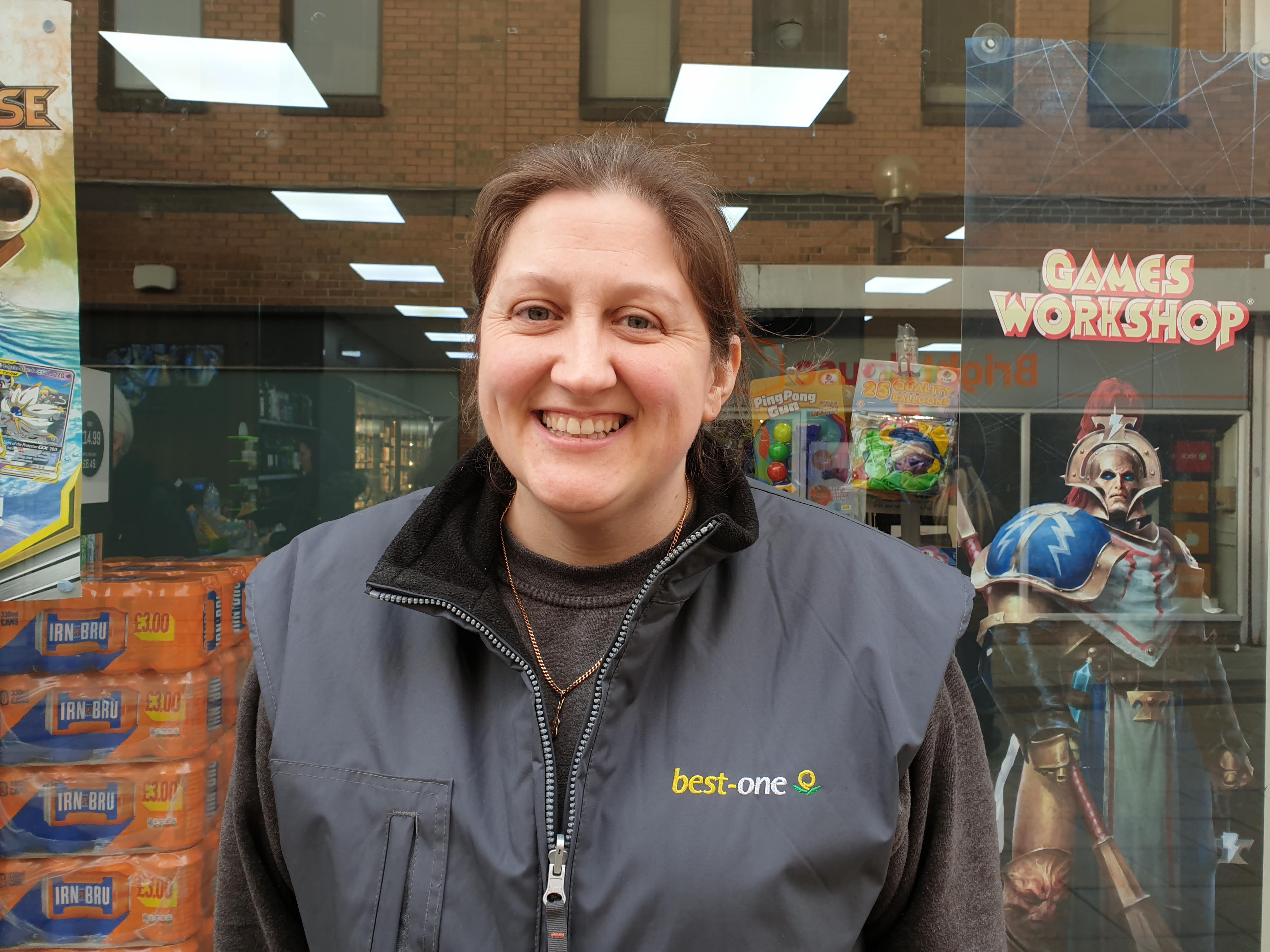 Store manager Sarah Darlow Stearn_Best one Spencer Court